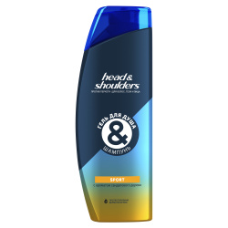 Гель для душа и Шампунь Head & Shoulders Спорт, 360мл - фото